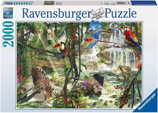 Puzzle 2000 Ravensburger 166107 W Dżungli