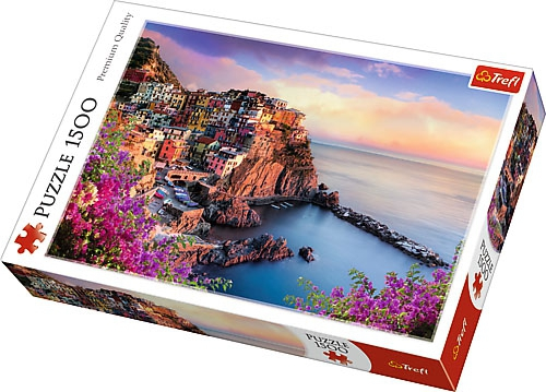 Puzzle 1500 Trefl 26137 Widok na Miasteczko Manarola