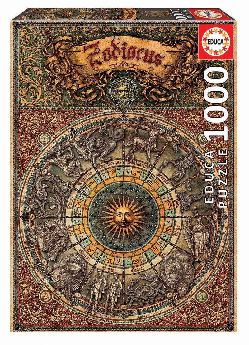Puzzle 1000 Educa 17996 Znaki Zodiaku