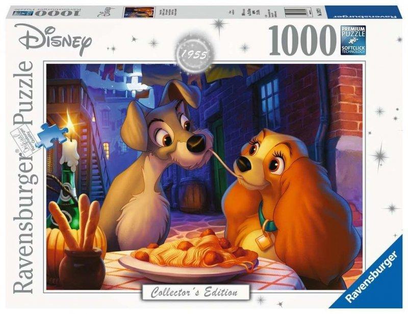 Puzzle 1000 Ravensburger 139729 Disney - Zakochany Kundel