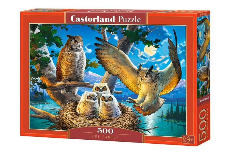 Puzzle 500 Castorland B-53322 Sowy