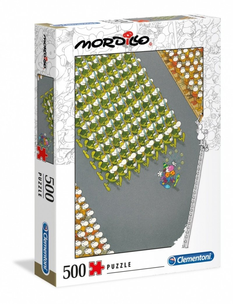 Puzzle 500 Clementoni 35078 Mordillo The March