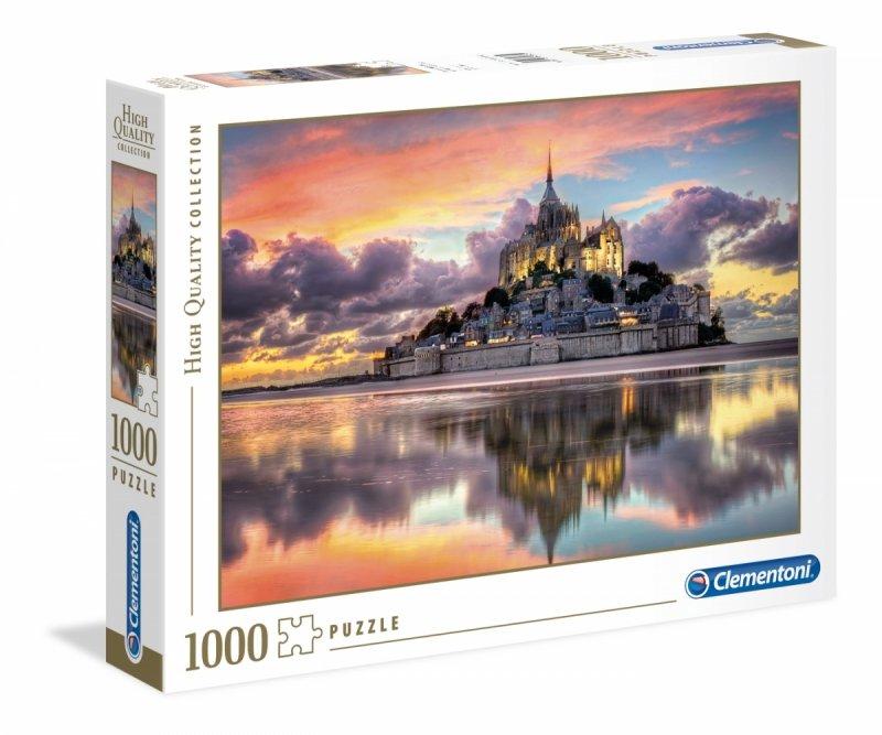 Puzzle 1000 Clementoni 39367 Mont Saint - Michel