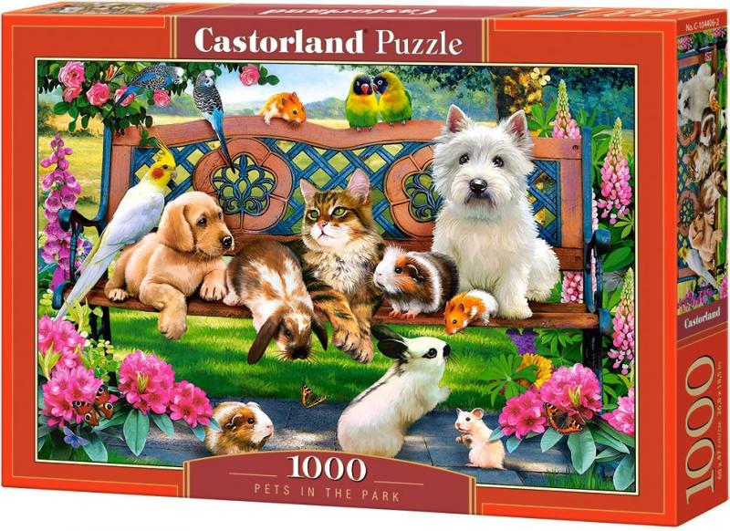 Puzzle 1000 Castorland 104406 Zwierzęta w Parku