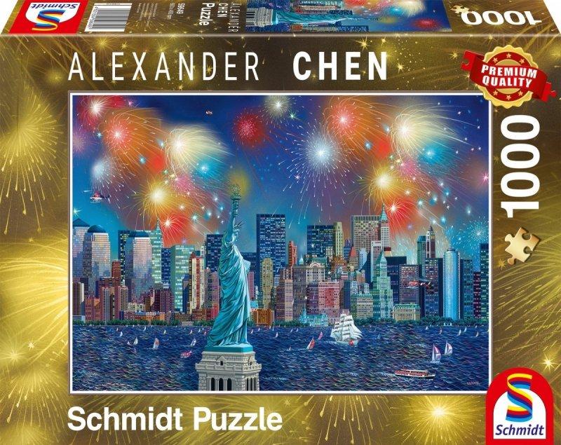Schmidt 59649 Alexander Chen - Fajerwerki nad Statuą Wolności