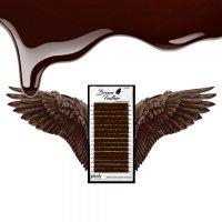 Rzęsy BROWN Feather Mix
