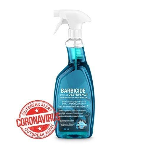 BARBICIDE - Spray do dezynfekcji powierzchni 1L
