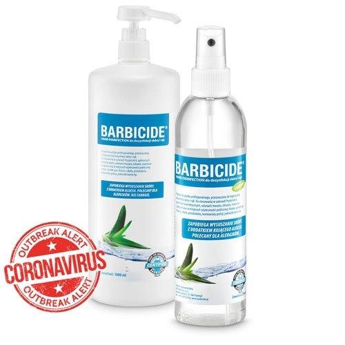 BARBICIDE Hand Disinfection - Spray do dezynfekcji skóry i rąk 250ml