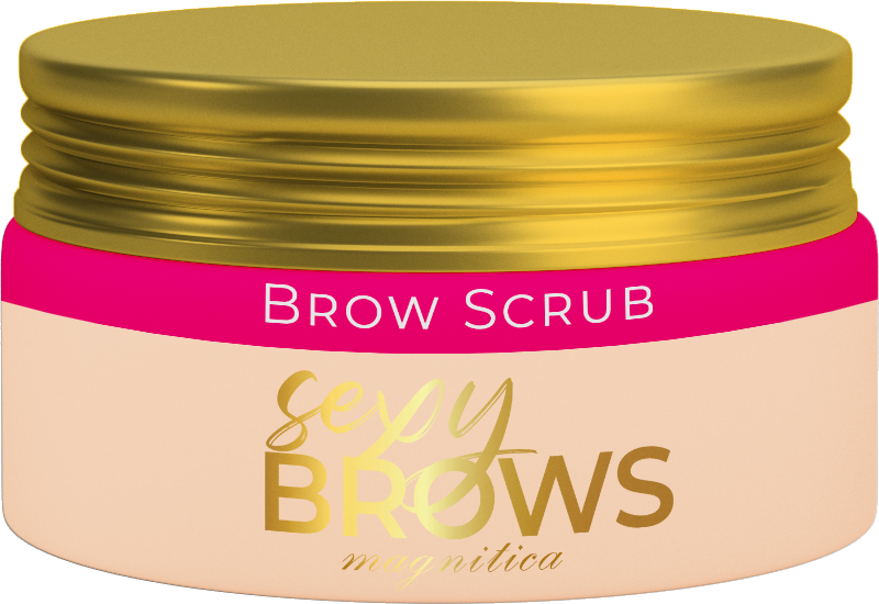 Brow Scrub Sexy Brows  by Magnitica 100g