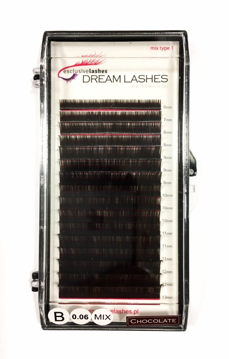 Rzęsy Silk Dream Lashes Chocolate by Exclusive Lashes