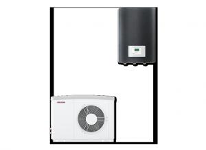 Pompa ciepła - Zestaw HPA-O 8 CS Plus Set flex