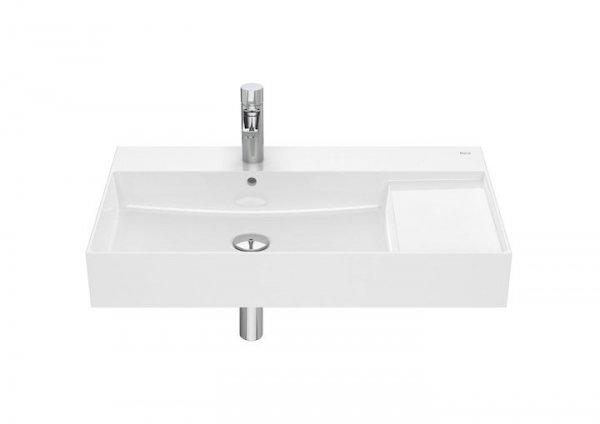 Inspira Umywalka ścienna cienkościenna       Wymiary:      Szerokość: 800 mm.      Głębokość: 490 mm.      Wysokość: 120 mm.