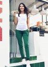 Wygodne ciążowe spodnie dresowe Chocolate Addict 9097 zielony2