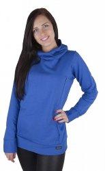 MijaCulture – 3 w 1 ciepła bluza ciążowa i do karmienia 1101 niebieski
