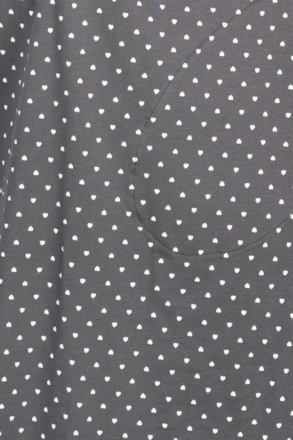 MijaCulture - koszula do porodu 4128 M96 grafit