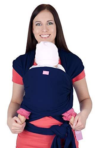 MijaCulture - chusta do noszenia dzieci 4011/M28 granatowa 1
