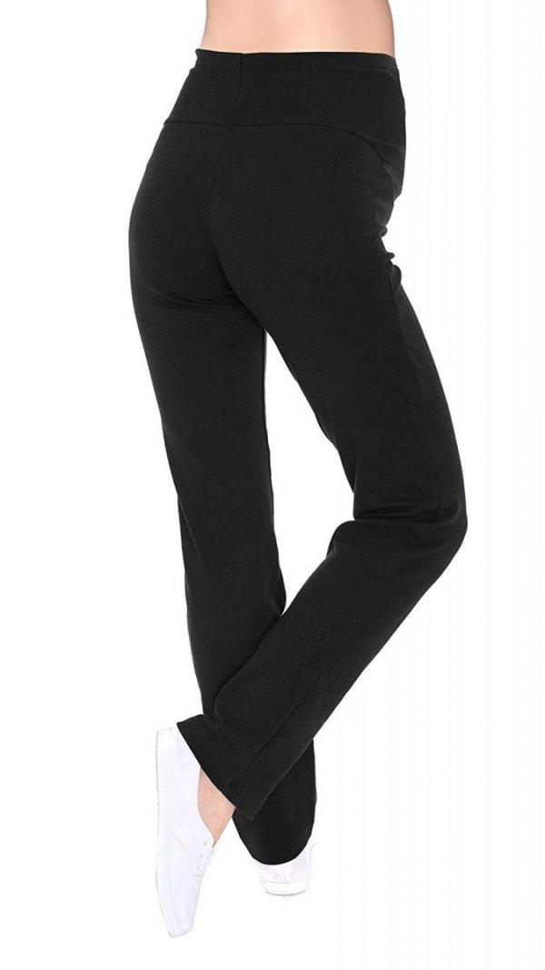 Wygodne spodnie dresowe 3010 czarny 4