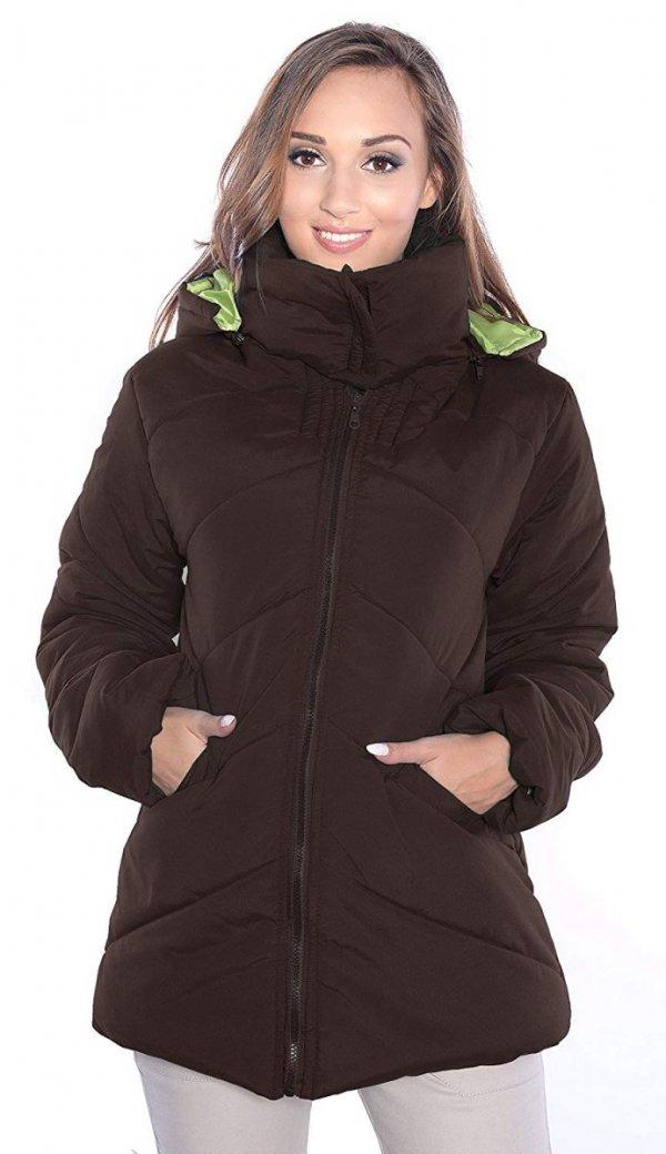 kurtka zimowa 3 w1 (dodatkowe 2 panele) 1108 brązowy 1