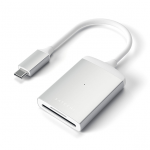 Satechi UHS-II Micro/SD Card Reader USB-C Silver