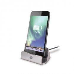 Forever Stacja dokująca do iPhone srebrna