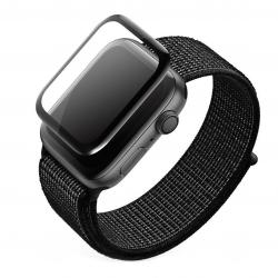 High Five 3D Black Full Glue Screen Protector - Szkło ochronne do zegarka Apple Watch 42mm