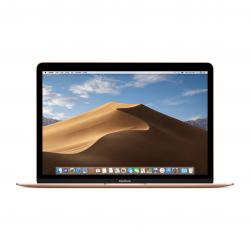 Macbook 12 Retina i5-7Y54 / 8GB / 512GB / HD Graphics 615 / macOS / Gold (złoty)