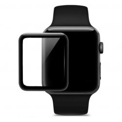 HOCO 4D Black-Rim Glass - Hartowane szkło ochronne do zegarka Apple Watch 38mm