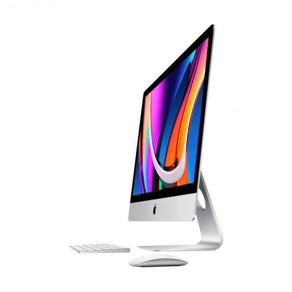 iMac 27 Retina 5K Nano Glass / i5 3,3GHz / 8GB / 2TB SSD / Radeon Pro 5300 4GB / 10-Gigabit Ethernet / macOS / Silver (2020) MXWU2ZE/A/D2/S1/E1 - nowy model