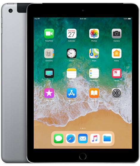 Apple iPad 6-gen 9,7 128GB LTE Wi-Fi Space Gray