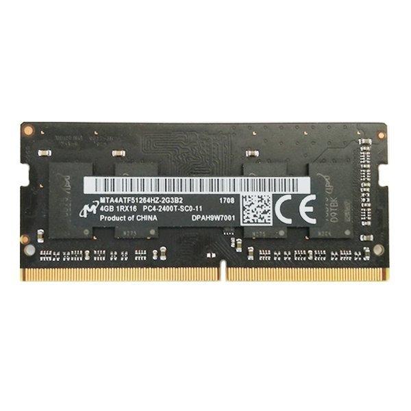 "Micron 4GB SO-DIMM / DDR4 / 2400MHz / 260-PIN / 1,2 V / iMac 27"" Retina 5K (2017)"