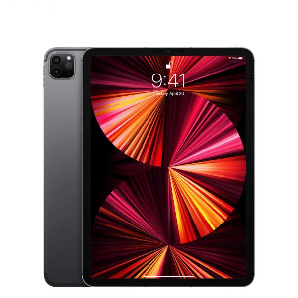 """Apple iPad Pro 11"""" 128GB Wi-Fi + Cellular (5G) Gwiezdna Szarość (Space Gray) - 2021"""