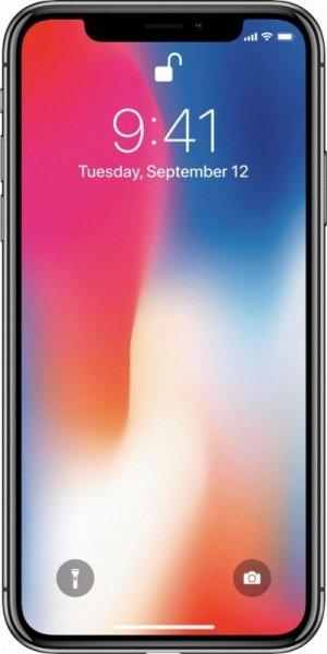 Apple iPhone X 256GB Super Retina HD Space Gray
