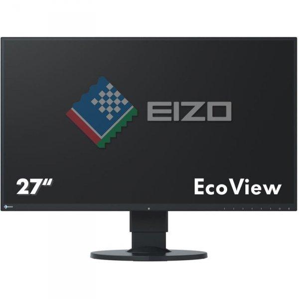 EIZO FlexScan EV2750 27 Czarny IPS WQHD HDMI DisplayPort