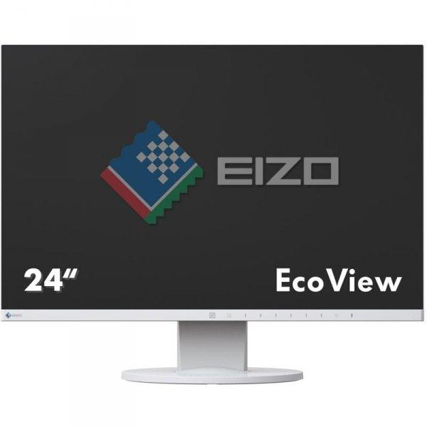 EIZO FlexScan EV2455 24 biały IPS FullHD HDMI DisplayPort
