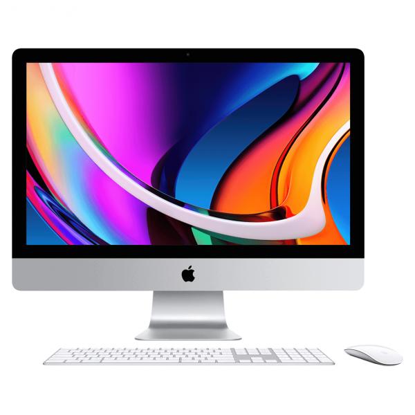 iMac 27 Retina 5K Nano Glass / i9 3,6GHz / 128GB / 2TB SSD / Radeon Pro 5700 XT 16GB / Gigabit Ethernet / macOS / Silver (srebrny) MXWV2ZE/A/P1/D2/G2/S1/128GB - nowy model