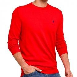 Ralph Lauren sweter męski czerwony