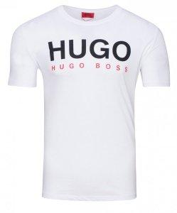 Hugo Boss t-shirt koszulka męska biała