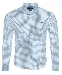 Armani Jeans koszula męska kratka