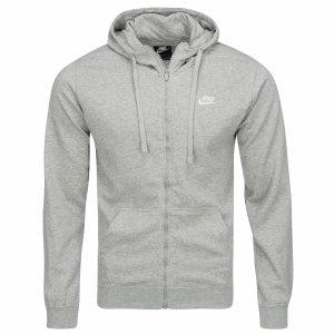 Nike bluza męska Full-Zip Hoodie szara 804389-063