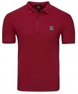 Hugo Boss koszulka polo polówka męska bordo