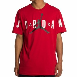 Nike Air Jordan t-shirt koszulka męska czerwona CZ1880-687