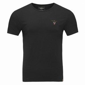 Aeronautica Militare t-shirt koszulka c-neck męska czarna