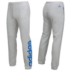 Adidas dziecięce spodnie dresowe szare Essentials Linear Pant BK3481