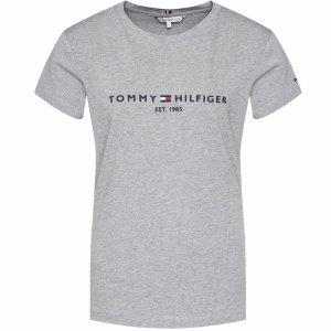 Tommy Hilfiger t-shirt koszulka damska bluzka szara