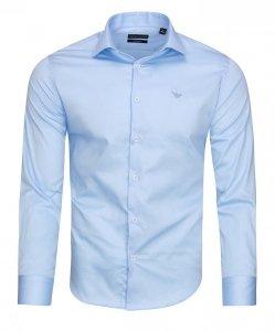 Emporio Armani koszula męska gładka modern fit