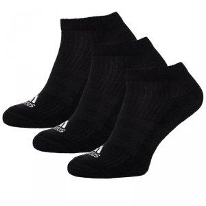 Adidas skarpety stopki czarne 3pack/AH9874