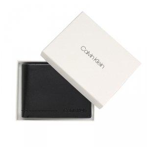 Calvin Klein portfel męski skóra czarny