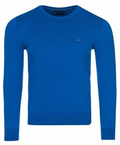 Tommy Hilfiger sweter męski niebieski c-nk