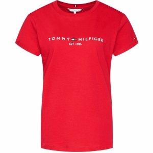 Tommy Hilfiger t-shirt koszulka damska bluzka czerwona