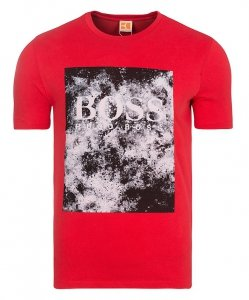 T-SHIRT KOSZULKA HUGO BOSS ORANGE